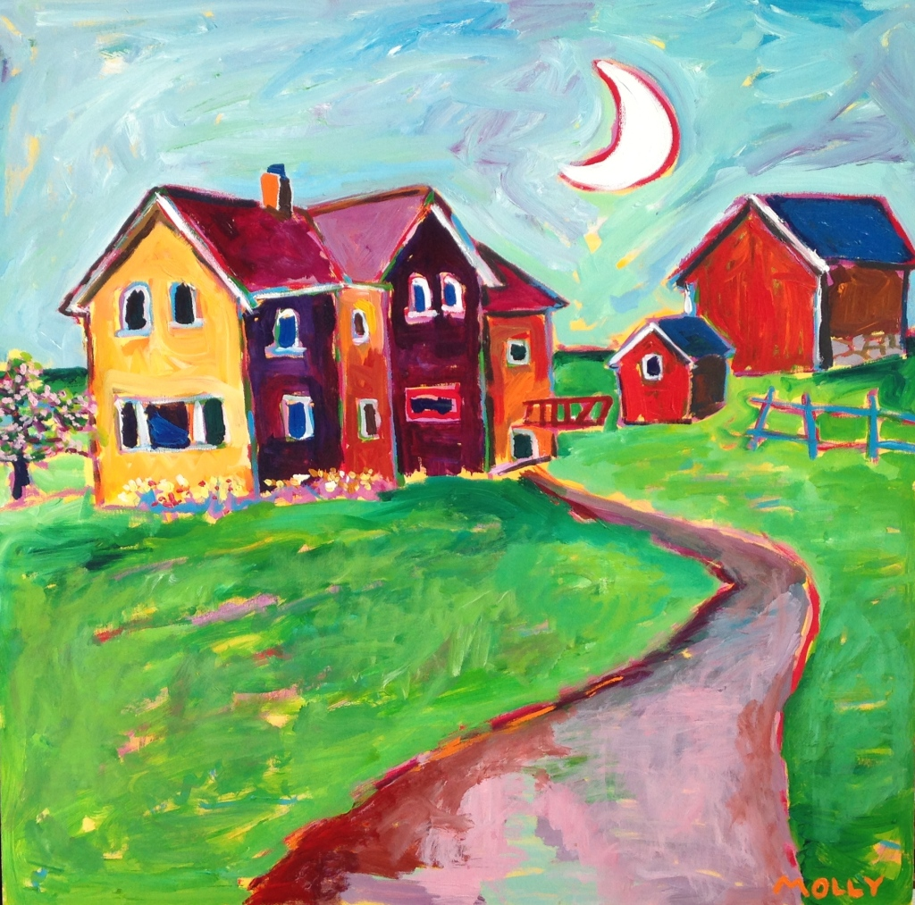 Wisconsin Farm Painting #2