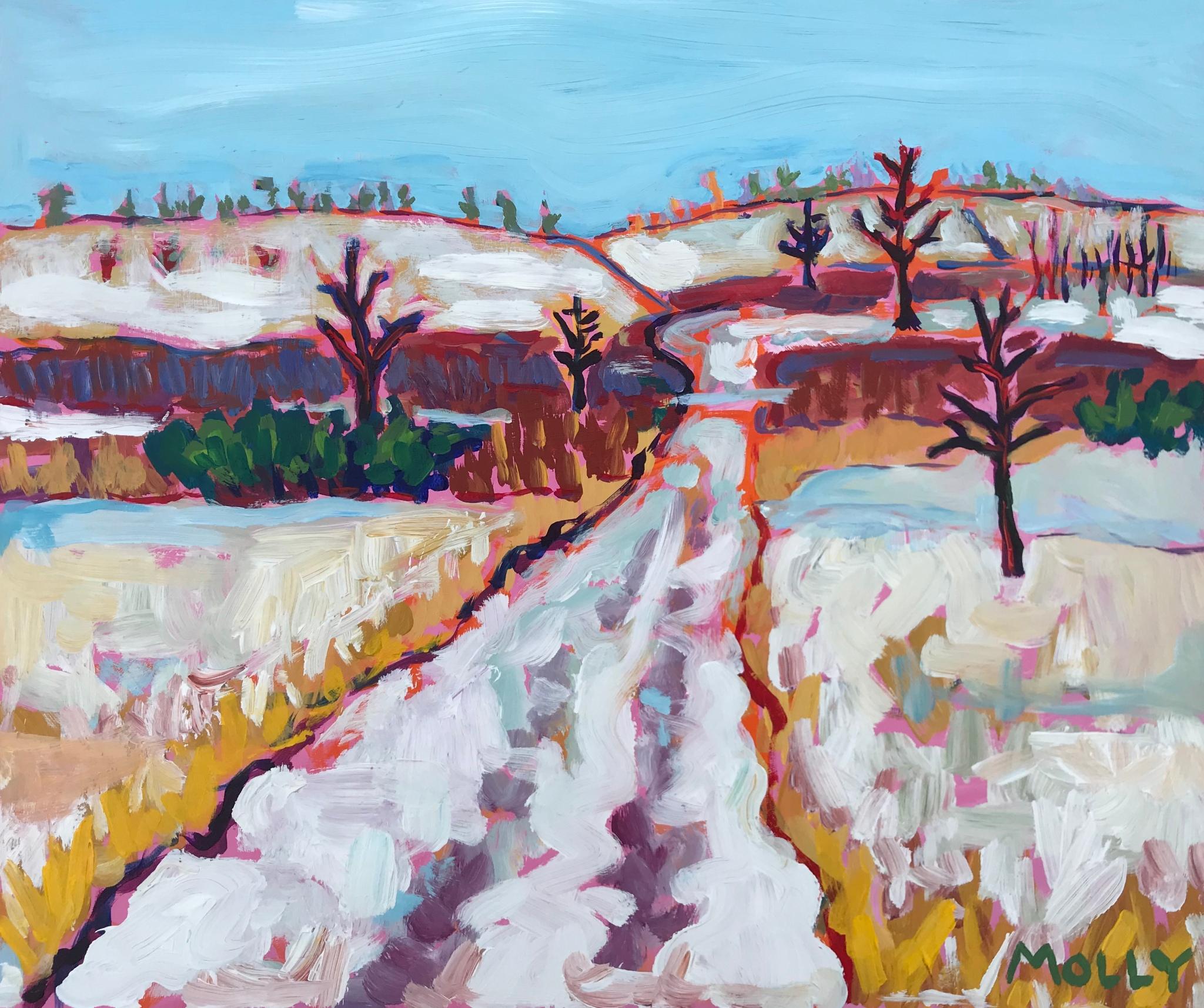 Winter Walk #1, 20x24